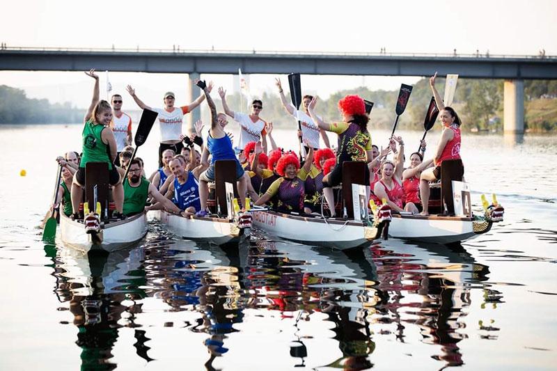 Drachenboot Cup Wien Abschluss